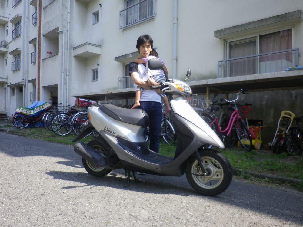 兵庫県宝塚市でお引取したホンダライブディオお客様の画像