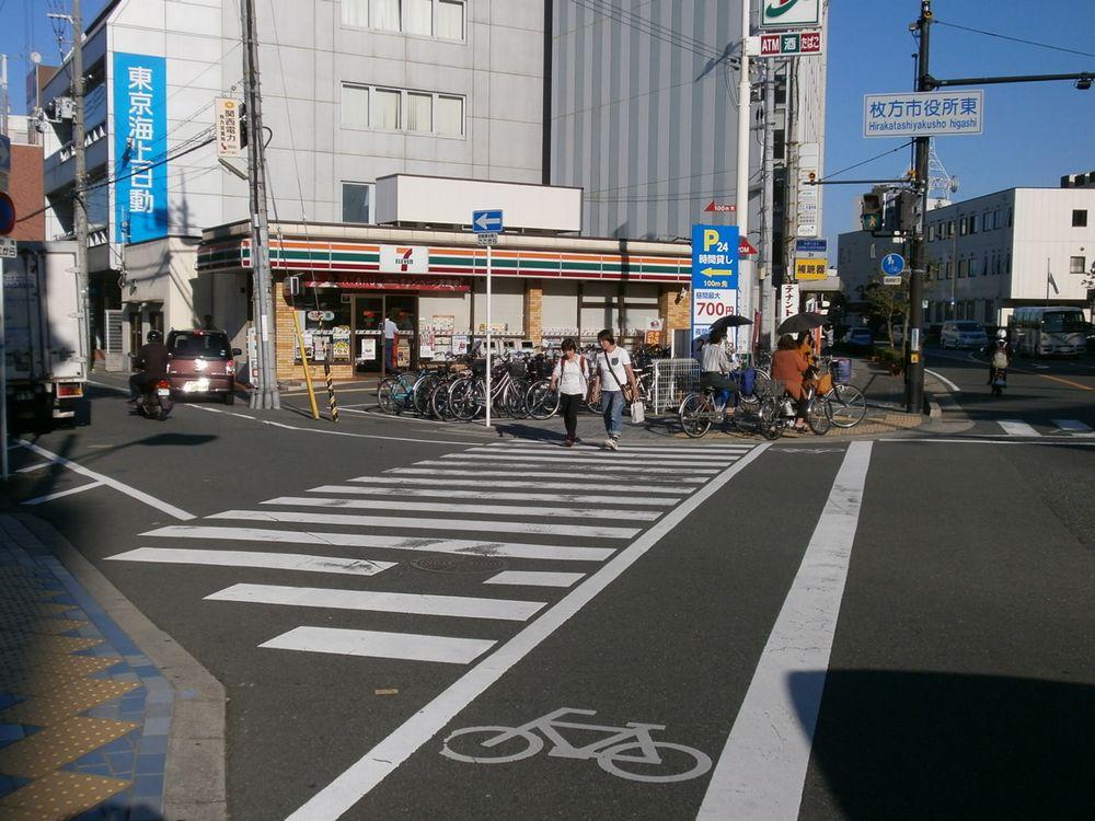 枚方市役所東交差点の画像