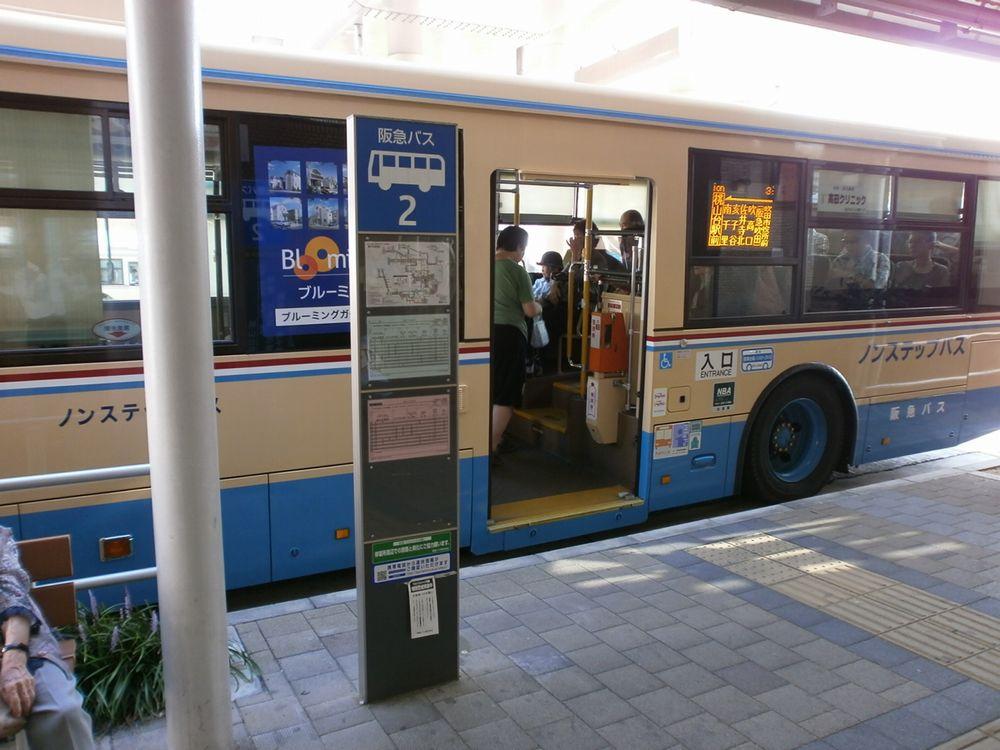 JR吹田駅バス亭2番乗り場の画像