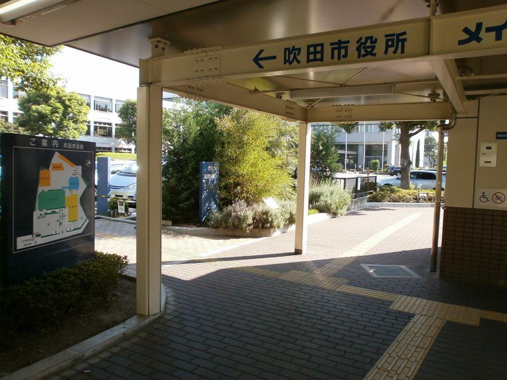 阪急吹田駅改札出口の画像