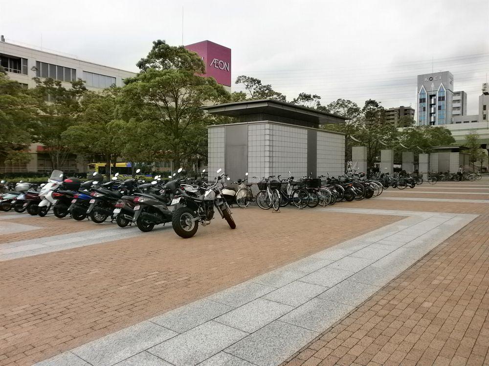 東大阪市の駐輪場の画像