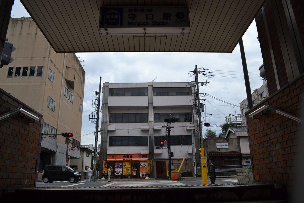 地下鉄谷町線守口駅3番出口画像