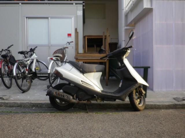 大阪府堺市の会社で引き取りしたスズキアドレスV100