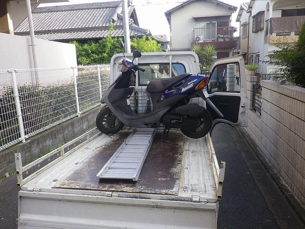岸和田市で引取りしたレッツ2の画像