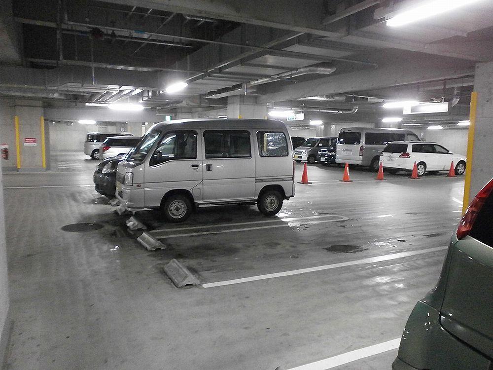 右京区役所駐車場の画像