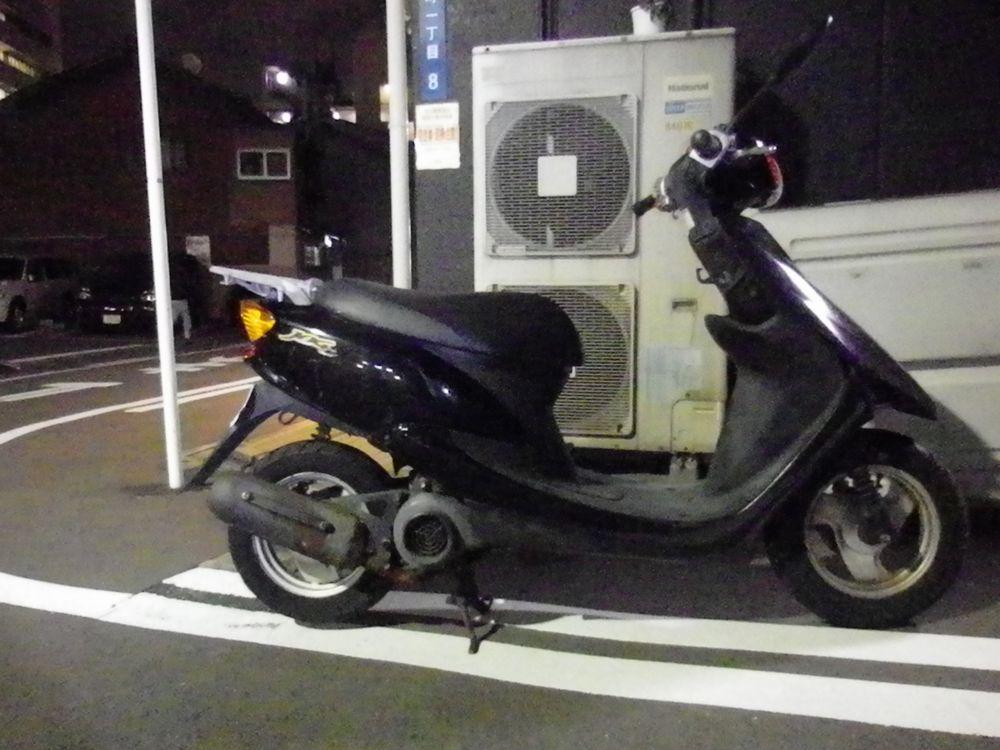 大阪府守口市で引取りしたヤマハジョグCの画像