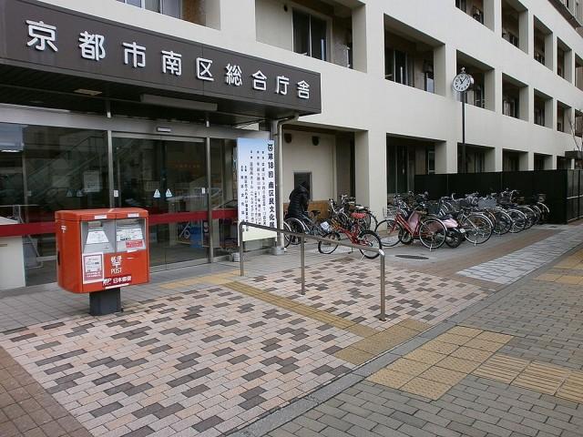 京都南区役所駐輪場