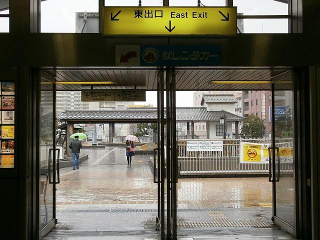JR草津駅東出口
