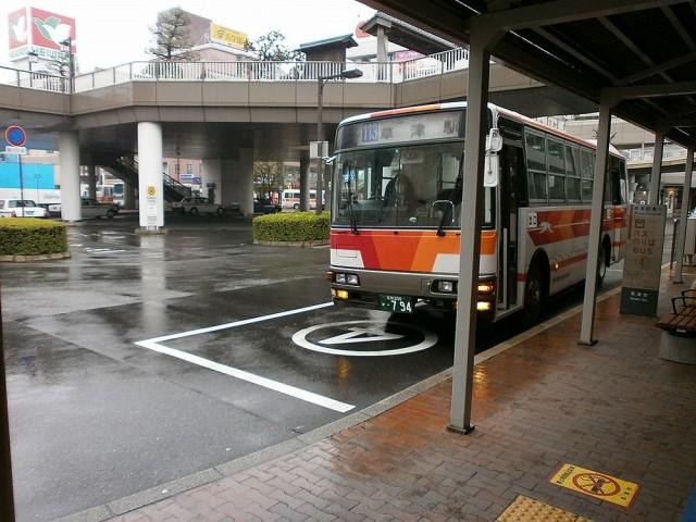 JR草津駅からバスで市役所