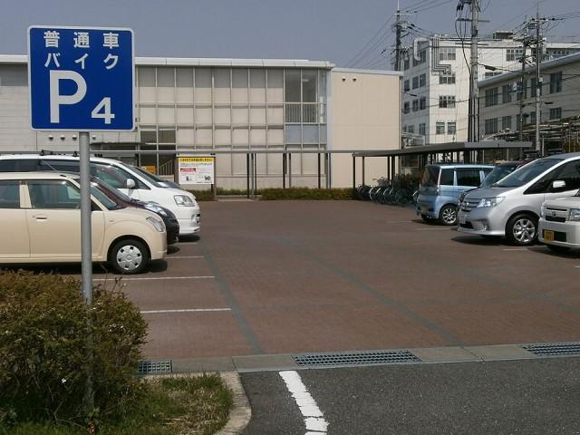 奈良運輸支局バイク、自転車置き場