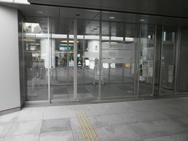 堺市役所本館正面玄関