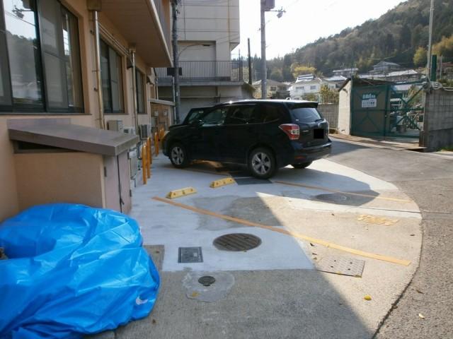 樫田支所駐車場