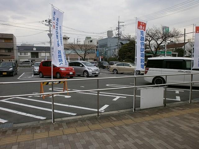 長岡京市役所駐車場