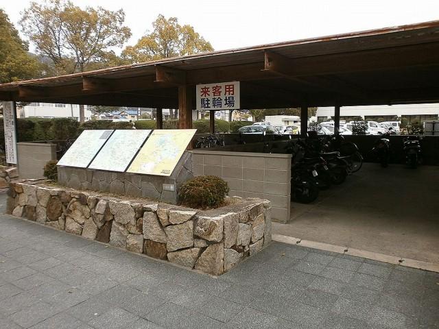 八幡市役所駐輪場