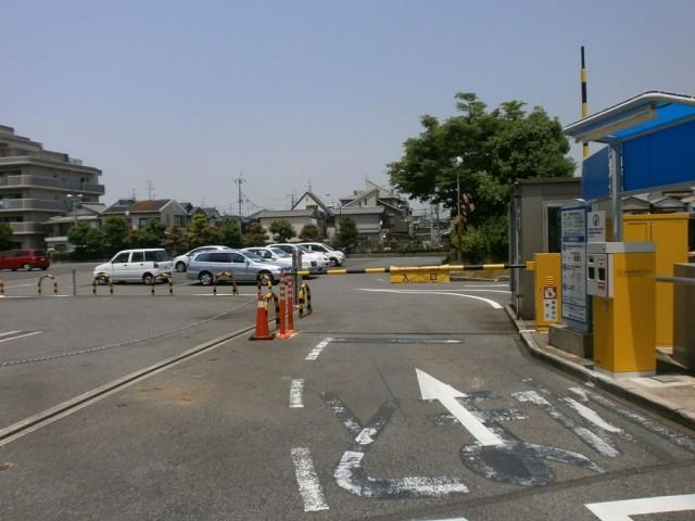 堺市東区役所駐車場