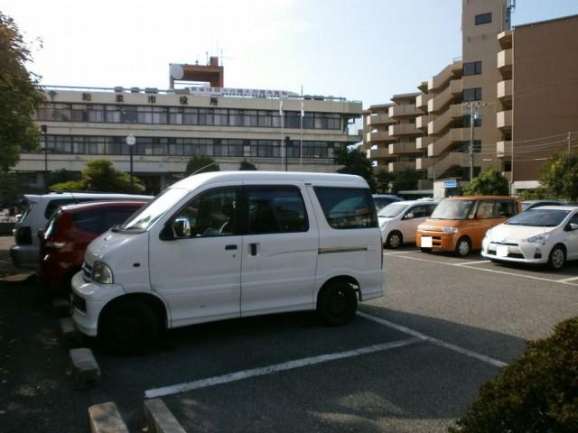 和泉市役所の駐車場
