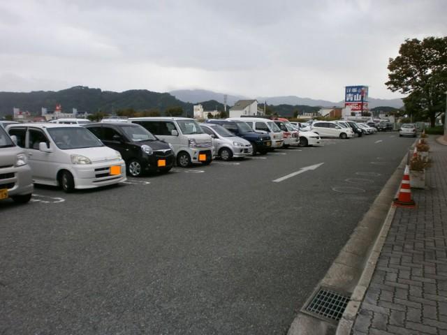 河内長野市役所駐車場