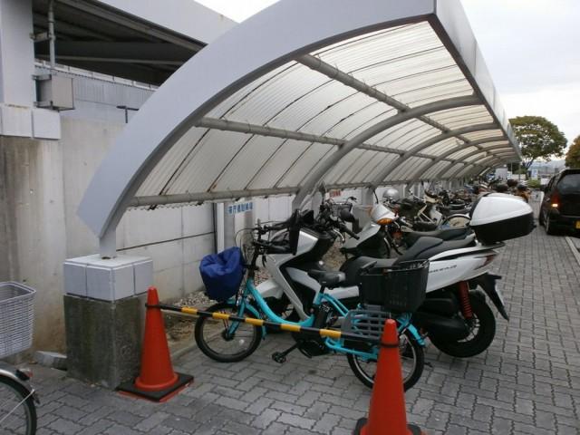 河内長野市役所 駐輪場