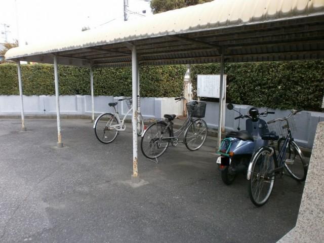 神戸市西区役所 駐輪場