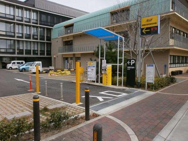 須磨区役所 駐車場について