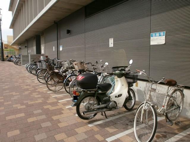 須磨区役所 駐輪場