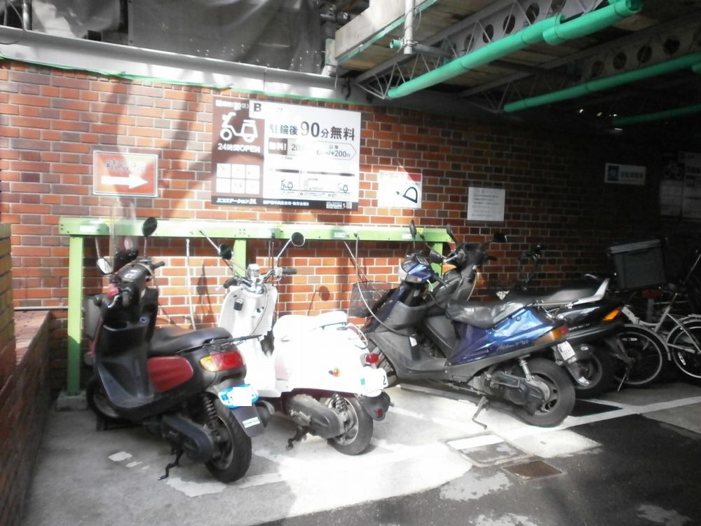 神戸市中央区役所駐輪場