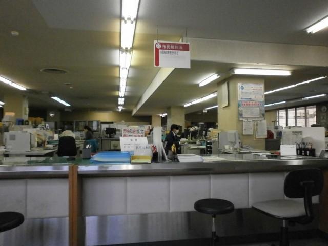 京都市西京区役所 2F 22番 市民税担当窓口