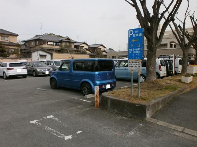 交野市役所 駐車場