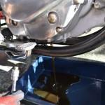 スズキボルティー250エンジンオイル排出