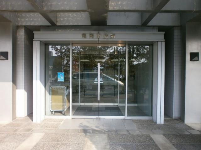 亀岡市役所 北玄関